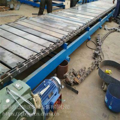 链板式给料机 爬坡式链板输送机