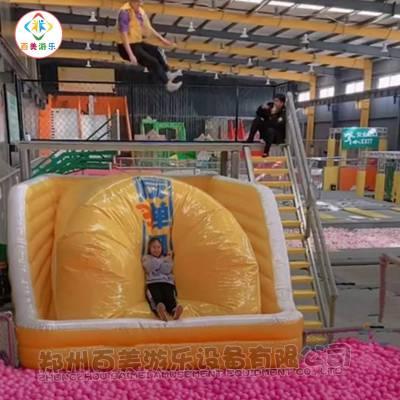 大型超级蹦床充气飞人弹跳包新年福利定做有优惠