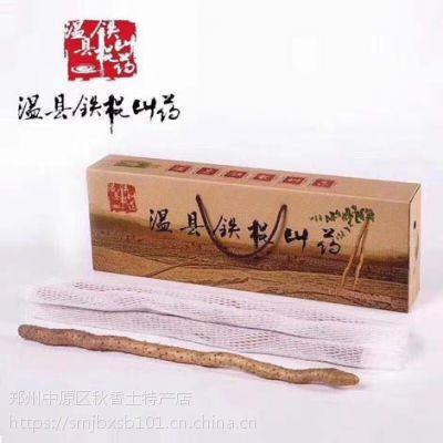 铁棍山药自家种植 河南温县垆土铁棍山药40-50cm普通礼盒装价格