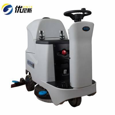 徐州洗地机-工业洗地机工厂车间用-驾驶式全自动电动拖地机