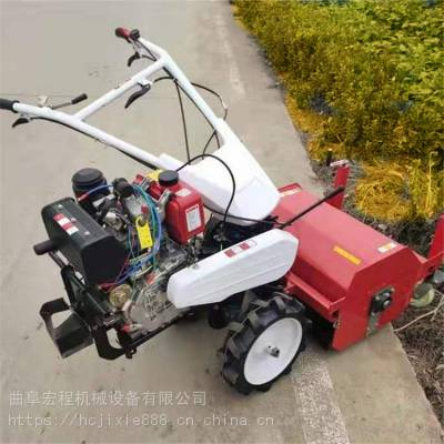新款制动剪草机 农用自走式割草机 果园割草碎草机
