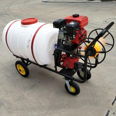 柴油高低可调园林打药机-自走式高架小麦喷雾器-高射程喷雾机