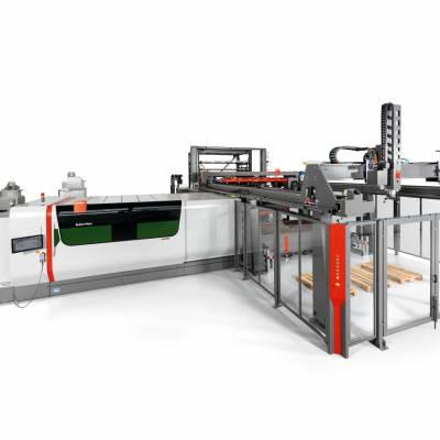 百超 高效率铝板激光切割机 6000W激光切割机 工厂自产自销