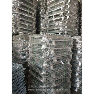 驰诺现货销售折叠式仓储笼移动周转箱