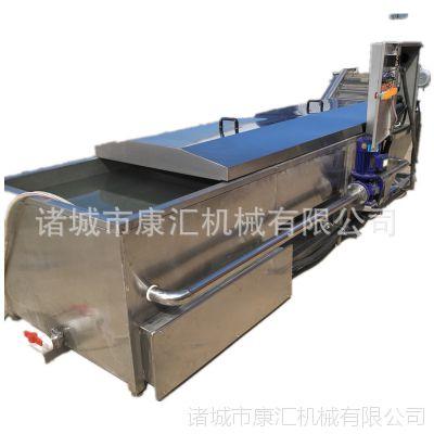 供应4米巴士杀菌机 自动出料低温灭菌机价格 康汇机械酱菜包装袋杀菌