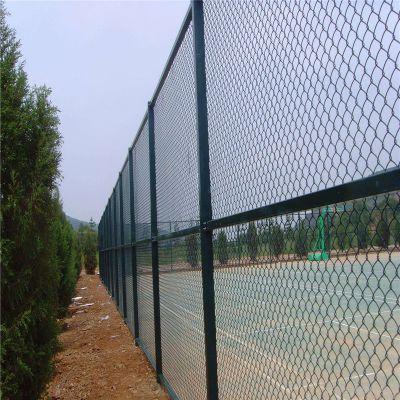勾花网 浸塑护栏网 球场安全围网