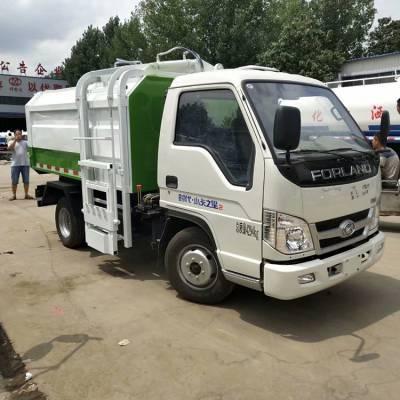 装卸式垃圾车 东风柴油六轮垃圾 定金送车 定做压缩垃圾车