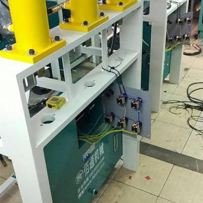 全自动数控冲孔机器使用方法 钻孔机 一机多功能