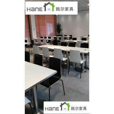 上海韩尔品牌家具 供应苏州科沃斯机器人股份有限公司员工餐桌椅 员工食堂桌椅定制