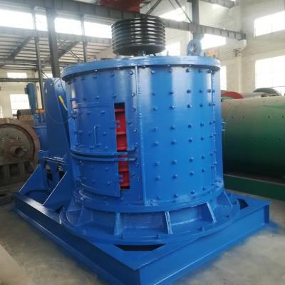 定制时产百吨砂石的复合式破碎机 全自动中细碎煤炭立式粉碎机 制沙机