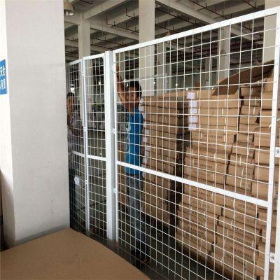 生产车间隔离网 仓库隔离栅 安平浸塑护栏网厂家