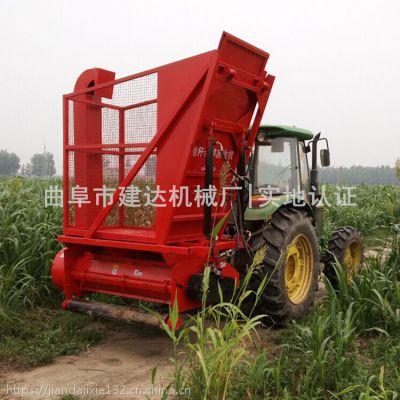 165型玉米秸杆收获机 秸秆青贮回收机 工作原理