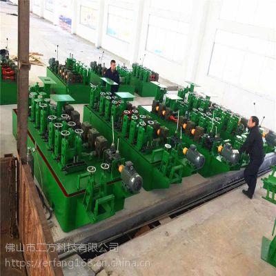 二方科技供应管材厂提供制管机方案 楼梯扶手设备
