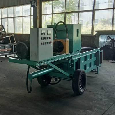 新一代青贮机 全自动玉米秸秆打捆机 青贮打包装袋机