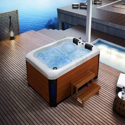 江苏南京奕华卫浴2150*1600*900mm新款SPA水疗亚克力泡池成人家用别墅亚克力冲浪按摩浴缸