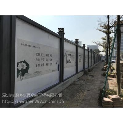 深圳户外钢围挡价格
