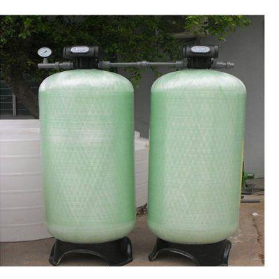 厂家直销常熟15吨石英砂过滤器 3674上下开口过滤罐 可开卸料口