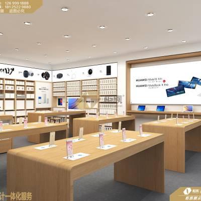 华为3.5体验店实拍展示5G华为3.5新款柜台,上线了!19款华为3.5体验店效果图设计风格