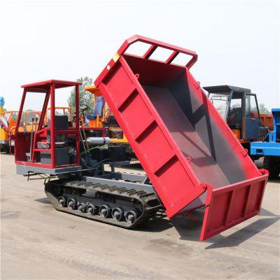 湖南履带运输车 履带自卸车 湖泊改造专用履带车