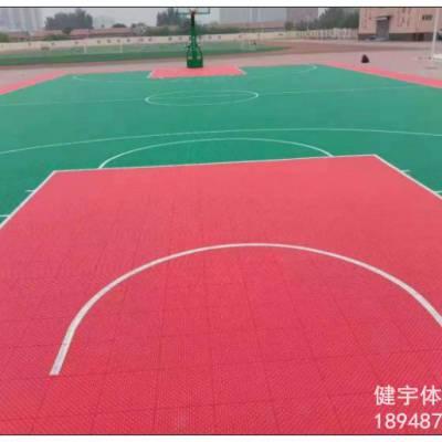 悬浮地板篮球场_悬浮地板运动场_环保材质_经久耐用_新一代篮球场运动材质_深圳市健宇体育