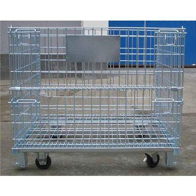 常规仓储笼规格 标准仓库仓储铁笼型号利欣定制