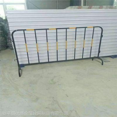 工地临边隔离防撞护栏 江苏临时隔离栏 圆管铁马护栏