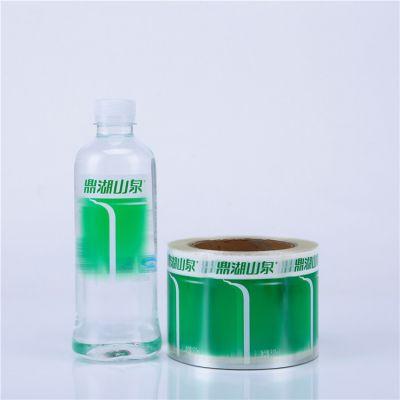 成都不干胶标签,矿泉水卷筒标签,透明防水不干胶印刷