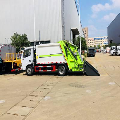 小型国六后装压缩垃圾车什么价位压缩垃圾车配件