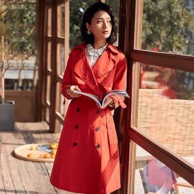 广州大码女装第五朵风衣单品走份批发 折扣店女装进货渠道批发