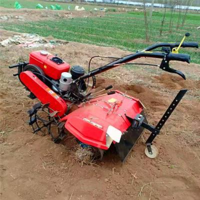 亚博国际真实吗机械 直销新款大葱培土机 微型大棚果园除草开沟机 柴油田园管理机 大葱开沟机
