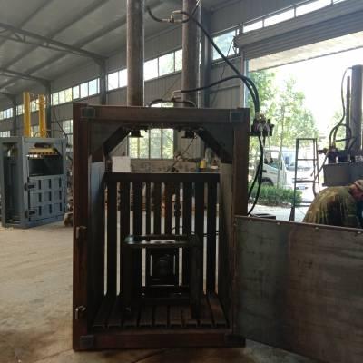 科圣160吨全自动液压废纸打包机 卧式液压废纸打包机
