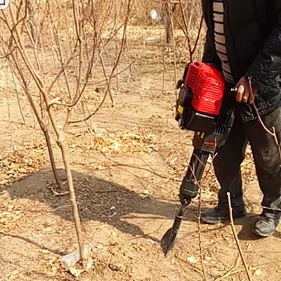 多型号汽油链条式挖树机 带土球果树移植机