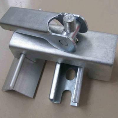 防溢裙板夹持器规格 导料槽夹持器生产 国龙GL夹持器