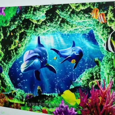 室内外墙面广告宣传主题图片直喷彩绘机操作简单自动调节