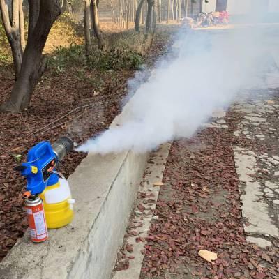生产加工小型烟雾喷雾器 热力烟雾机 2L丁烷消毒机