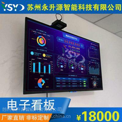 定制数据在线监控平台 数据库发送显示 数据终端采集液晶显示屏