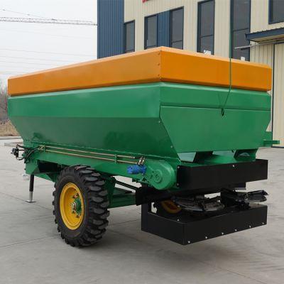 干湿粪撒粪机哪里卖 大型牵引式撒粪车多少钱