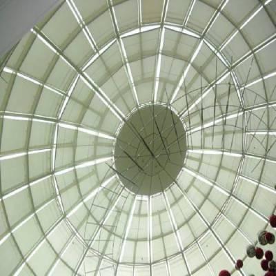 塘沽天幕帘阳光房电动FSS 天棚帘采光顶工程折叠天棚帘电动窗帘品牌直销