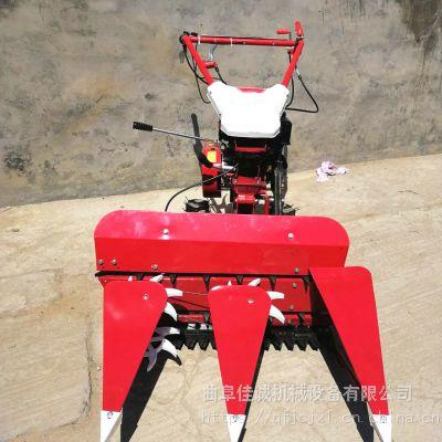 小型牧草收割机新款芦苇玉米秸秆收割机汽油割晒机