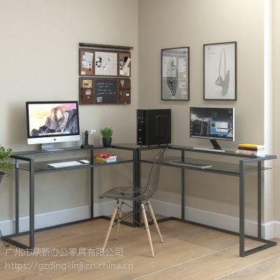 新款时尚简约 3-角C框架L型电脑桌 办公桌 可定制厂家直销