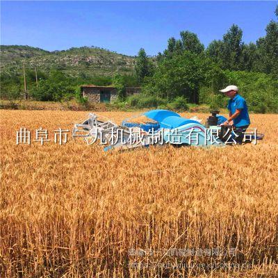 高效率 履帶式小型聯合水稻收割機 稻谷物收割機 一九廠家