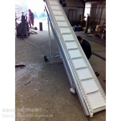 固定式挡边输送机运行平稳 机场行李装卸车输送机