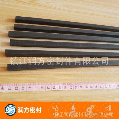 聚四氟乙烯PTFE填充碳纤维耐磨条 :自润滑、耐磨损、低磨耗