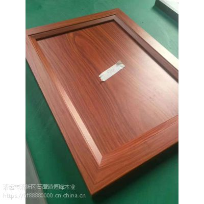 广东实木多层免漆门芯板LVL柜门包覆拼框线恒锋线板同色