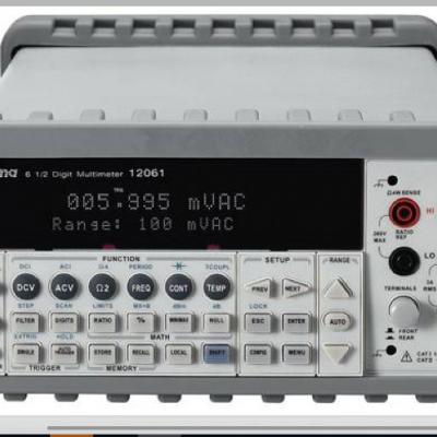 Chroma/致茂台湾12061六位半数字多功能电表
