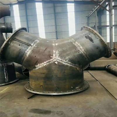 友瑞牌焊接等径三通 工程排水三通DN1000 现货对焊三通厂家