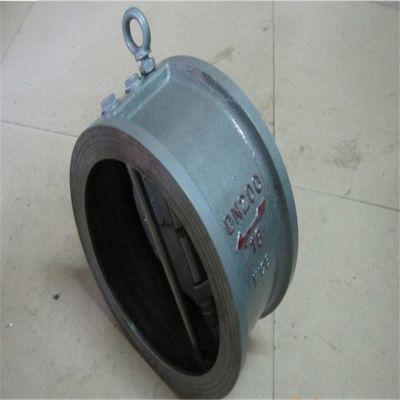 毕节供应H76H-16C DN200铸钢蝶型形止回阀 WCB材质对夹式止回阀