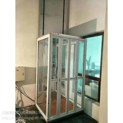 许昌厂家二三层别墅电梯 简易升降机 老人电梯 国胜重质量守信用