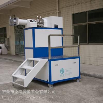 臣泽立式硅胶管挤出机,高精密硅胶挤出设备