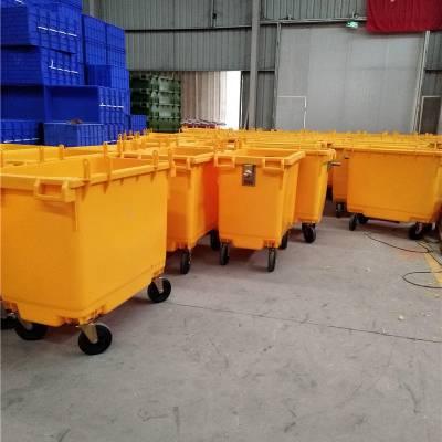 忠县环卫垃圾桶120L厂家直销可回收垃圾桶